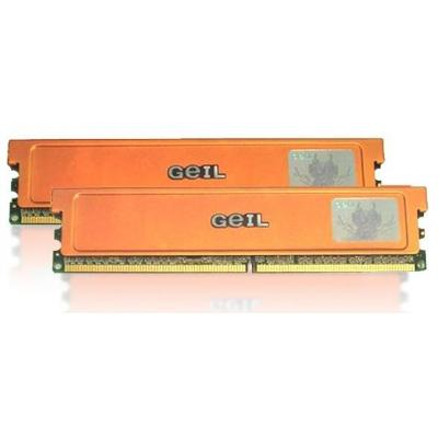 Geil RAM-geheugen: PC2-8500 DDR2-1066+ 4GB Dual Channel Kit