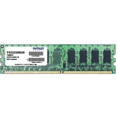 Patriot Memory PSD22G80026 RAM-geheugen