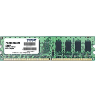 Patriot Memory 2GB PC2-6400 RAM-geheugen