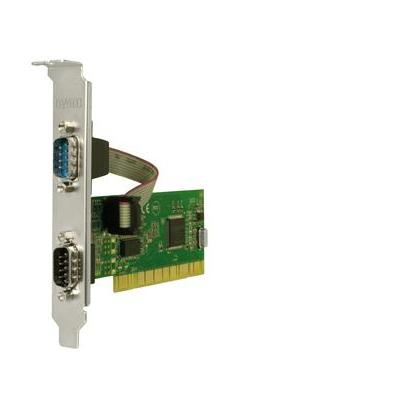 Sweex interfaceadapter: 2 Port Serial PCI Card - Groen