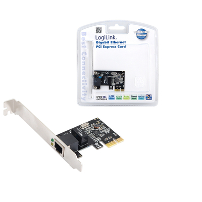LogiLink Gigabit PCI Express Network Card Netwerkkaart