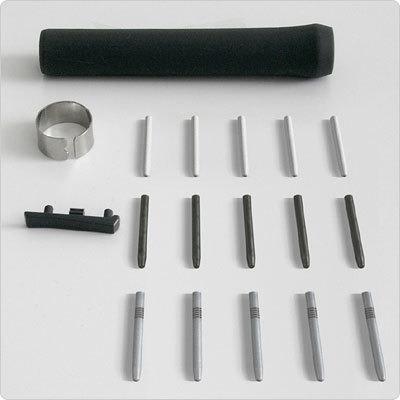 Wacom Pen Accessory Kit - Aluminium, Zwart, Grijs, Wit