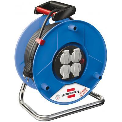 Brennenstuhl power extrention: BN-HASP02 - Zwart, Blauw