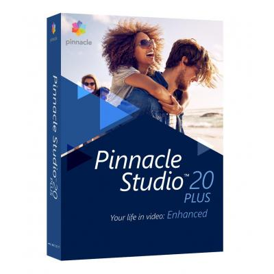 Corel videosoftware: Pinnacle Studio 20 Plus ML EU
