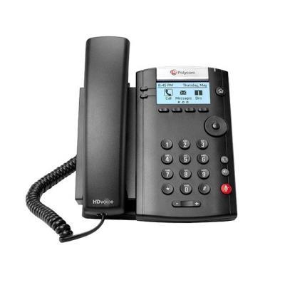 Polycom ip telefoon: VVX 201 - Zwart