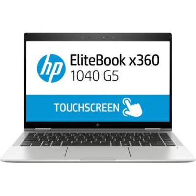 HP EliteBook x360 1040 G5 laptop - Zwart, Zilver