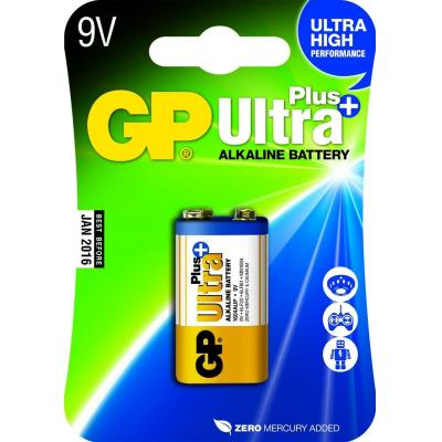Gp batteries batterij: Ultra Plus Alkaline 9V - Multi kleuren