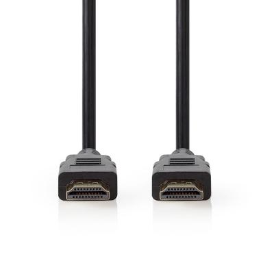 Nedis CVGP34050BK05 HDMI kabel - Zwart