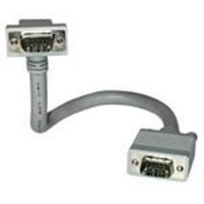 C2G 1m Monitor HD15 M/F cable VGA kabel  - Grijs