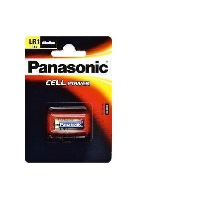 Panasonic batterij: LR1L/1BE Alkaline battery LR1, 1,5 V