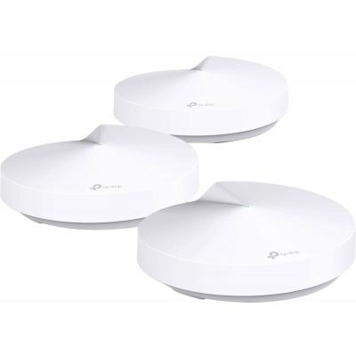 Tp-link wireless router: Deco M5 Dual-Band AC1300 Mesh Starter Kit (3-Pack) - Wit