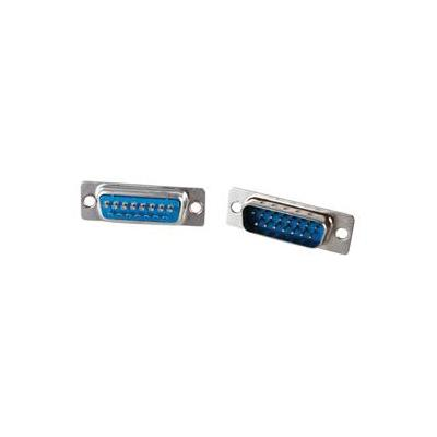 Valueline kabel connector: Sub-D Plugs - Zilver