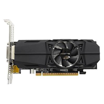 Gigabyte videokaart: GeForce GTX 1050 Ti OC Low Profile 4G - Zwart