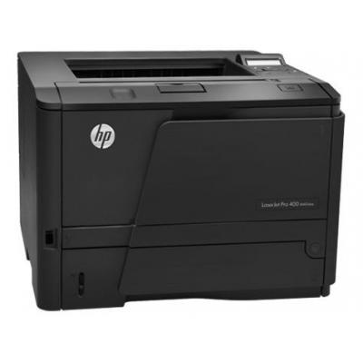 HP laserprinter: LaserJet Pro M401dne - Zwart