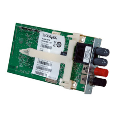 Lexmark MarkNet N8130 Fiber Ethernet 100BaseFX, 10BaseFL Print Server Printer server