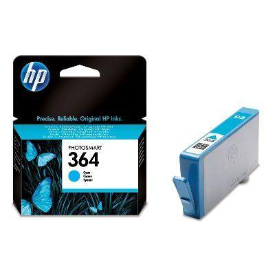 Hp inktcartridge: 364 originele cyaan inktcartridge