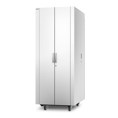 APC NetShelter CX 38U Geluiddempende en geventileerde 'Server Room in a Box', Wit Rack