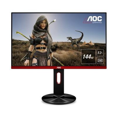 """AOC Gaming 68.58 cm (27"""") , 1920 x 1080, 400 cd/m², 1000:1, VGA, HDMI, Displayport, VESA 100 x 100 Monitor - Zwart, ....."""