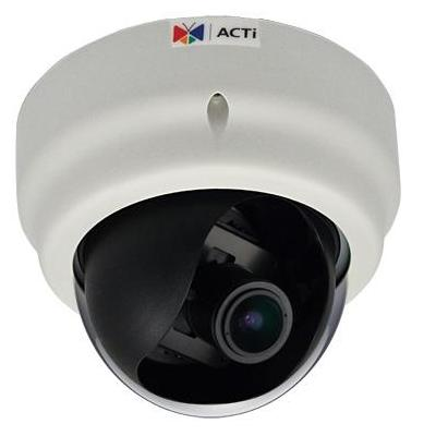 "Acti beveiligingscamera: 2MP, 1080p, 30 fps, 1/2.8"" CMOS, Fast Ethernet, PoE, 5.43 W, 505 g - Wit"