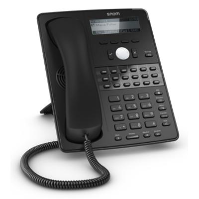 Snom ip telefoon: D725 - Zwart