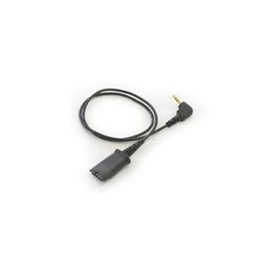 Plantronics kabel: 3.5mm to Quick Disconnect - Zwart