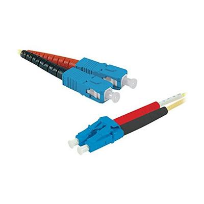 Connect 392348 Fiber optic kabel - Geel