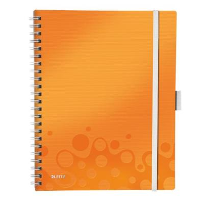 Leitz schrijfblok: WOW Be Mobile Book - Metallic, Oranje