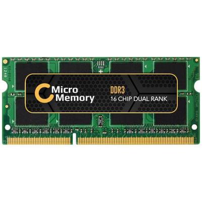 CoreParts 2GB DDR3 1066MHz RAM-geheugen - Groen
