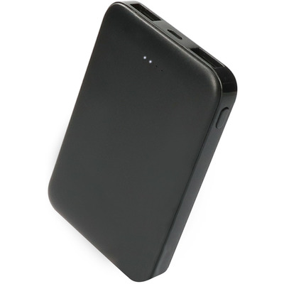 Mobiparts Powerbank, 5000 mAh, Black Powerbank - Zwart
