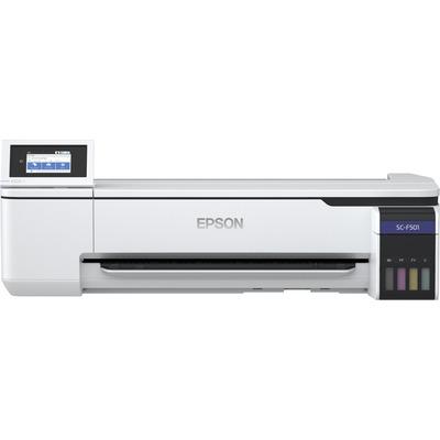 Epson SureColor SC-F501 Grootformaat printer - Zwart,Cyaan,Fluorescerend roze,Fluorescerend geel