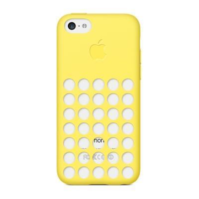Apple mobile phone case: iPhone 5c Case - Geel