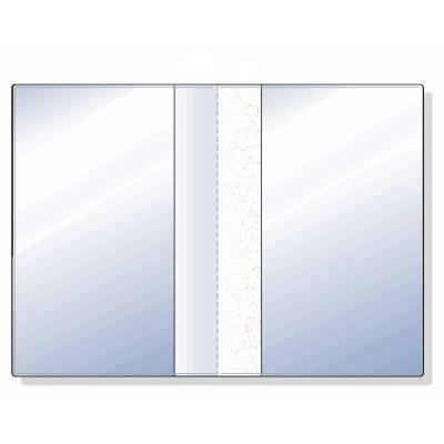 Rexel badge: ID-map A8 57x89mm Mat Transparant (25)