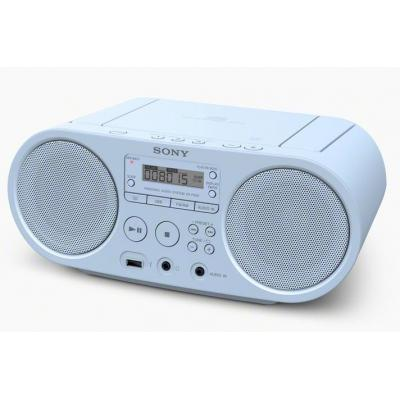 Sony radio: ZS-PS50 - Blauw