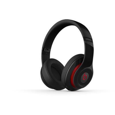 Beats by dr. dre koptelefoon: Studio Wireless - Zwart, Rood