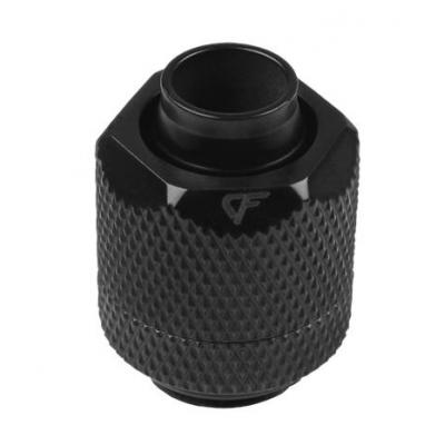 Nanoxia CF Compression fitting G1/4 male - 13/10 mm Cooling accessoire - Zwart