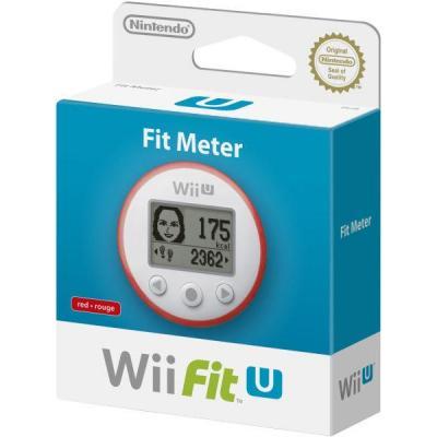 Nintendo spel accessoire: Wii Fit U - Fit Meter - Rood