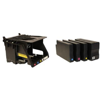 DTM Print 53467-PT Inktcartridge - Zwart,Cyaan,Magenta,Geel