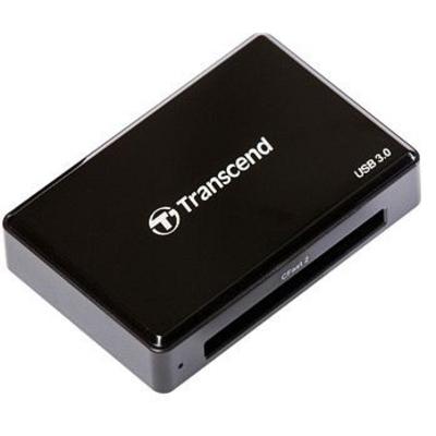 Transcend CFast 2.0 USB3.0 Geheugenkaartlezer - Zwart
