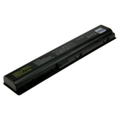 2-power batterij: Internal Battery for HP Pavilion dv9000 - Zwart