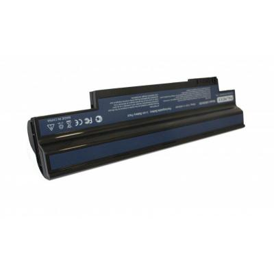 Acer batterij: 3 Cell, 2200 mAh, Li-Ion - Zwart