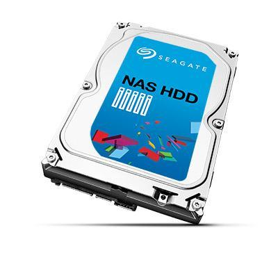 "Seagate interne harde schijf: NAS HDD 8.89 cm (3.5 "") HDD, 1 TB, 64 MB, 180 MB/s, SATA 6 Gb/s"