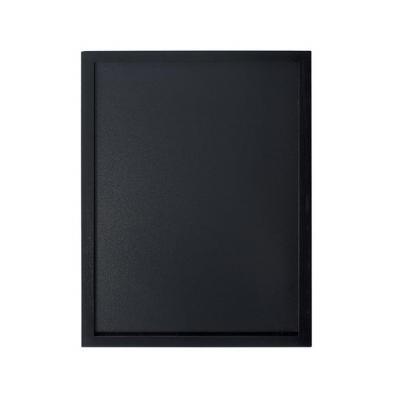 Securit bord: 400 x 600 mm, 902 g - Zwart