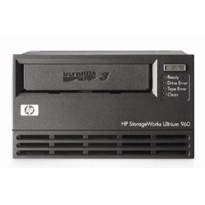 Hp tape drive: StorageWorks Ultrium 960 internal SCSI tape drive (Carbonite Black) - LTO-3 with 400GB native capacity .....