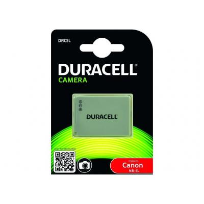 Duracell : Camera Battery - replaces Canon NB-5L Battery - Wit