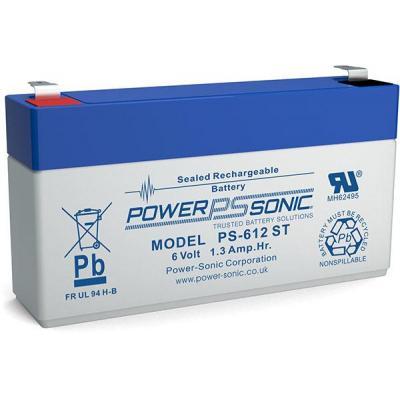 Power-Sonic PS-612ST UPS batterij - Blauw, Grijs