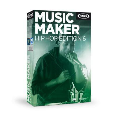 Magix audio software: Music Maker Hip Hop Edition 6