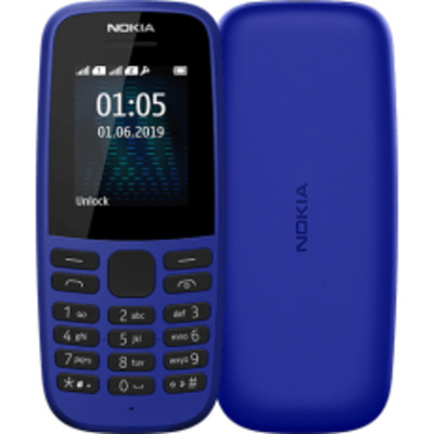 Nokia 105 Mobiele telefoon - Blauw