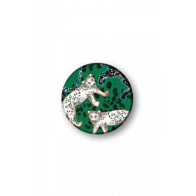 Richmond & Finch Green Leopard Popsocket - Meerkleurig