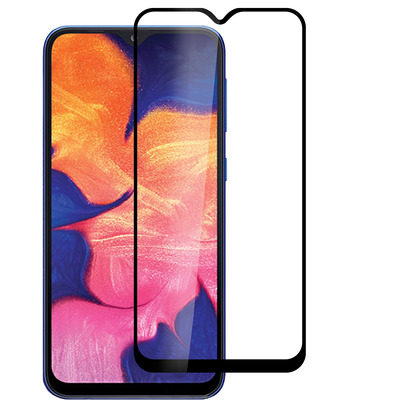 ESTUFF Samsung Galaxy A40 Full Black Screen protector - Zwart,Transparant