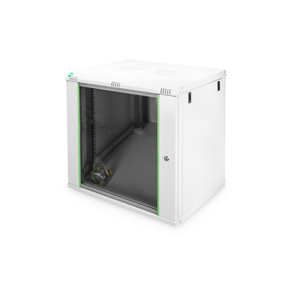 "Digitus 19"" 12U Wall Mounting Cabinet, Unmounted Rack - Grijs"